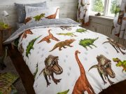 Kids Dinosaur Duvet Cover